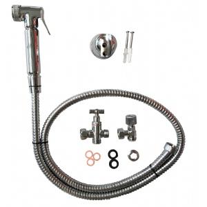 Metal chrome bidet sprayer