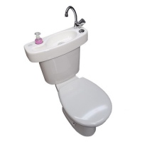 WiCi Concept, adaptable hand-wash basin kit for WC