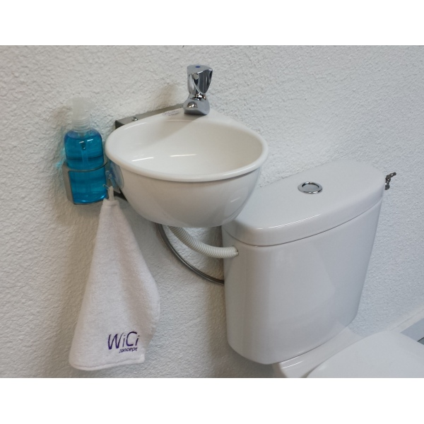 Small Wash Basin Price : WiCi Mini - Adaptable small hand-wash basin kit - WiCi Concept