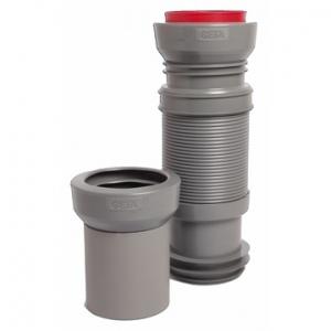 Biegbares Abflussrohr CETA Multibati für Wand-WC