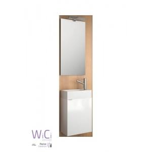 Set mit Waschbeckenunterschrank, Micro 400 design