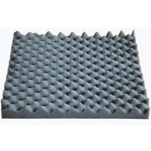 Soundproofing acoustic foam for wall-hung toilets