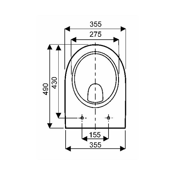 cuvette wc allia prima compact. Black Bedroom Furniture Sets. Home Design Ideas