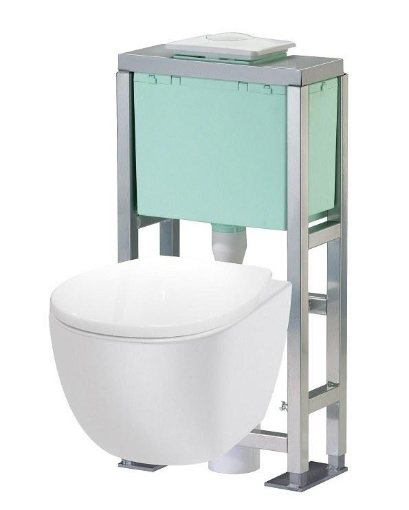 Pack wc trio 2 siamp - Bati support wc ...