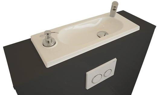 WC Geberit avec lave-mains WiCi Bati - modèle Chicago