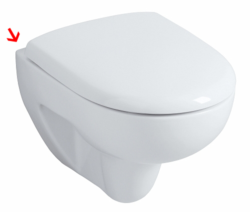 Allia Prima Compact toilet bowl 49 cm
