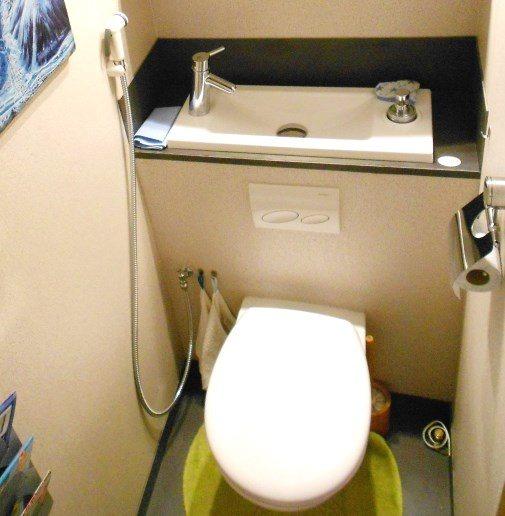 Douchette hygiène pour WC suspendu - 4