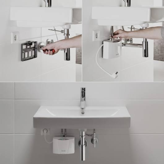 Installation chauffe-eau instantané électrique