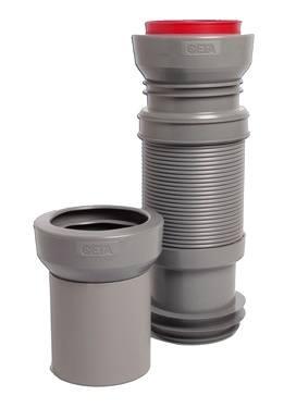 Pipe souple CETA Multibati sur WC suspendu avec lave-mains intégré WiCi Bati