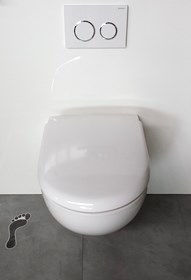 Selles Royan Rimfree toilet bowl for WiCi Bati 1