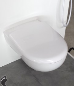 Selles Royan Rimfree toilet bowl for WiCi Bati 3