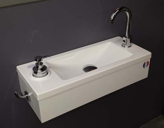 WiCi Bati disabled washbasin for public buildings