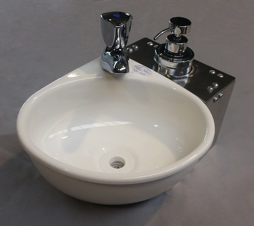 WiCi Mini disabled washbasin for public buildings
