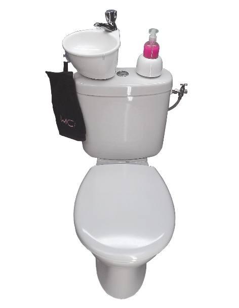 Formidable petit kit lave-mains pour WC, WiCi Mini !