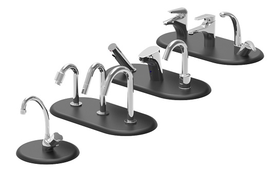Range of taps for toilet and sink combos