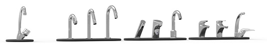 Our great range of tapware that fit WiCi Concept products