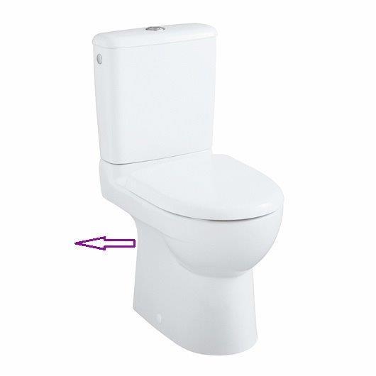 Cuvette WC Prima cdi compact Allia