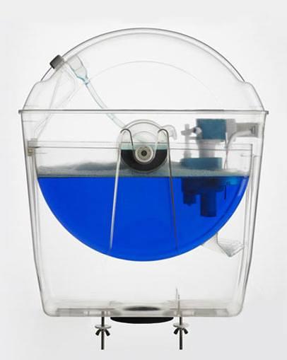 Chasse d eau rotative avec cuvette wc compacte - Fonctionnement d une chasse d eau ...