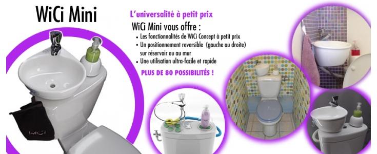 WiCi Concept, la boutique en ligne,WC lave main combiné