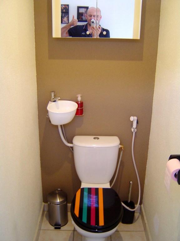 Mini lave mains pour wc galerie page 2 - Wc avec douchette anale ...