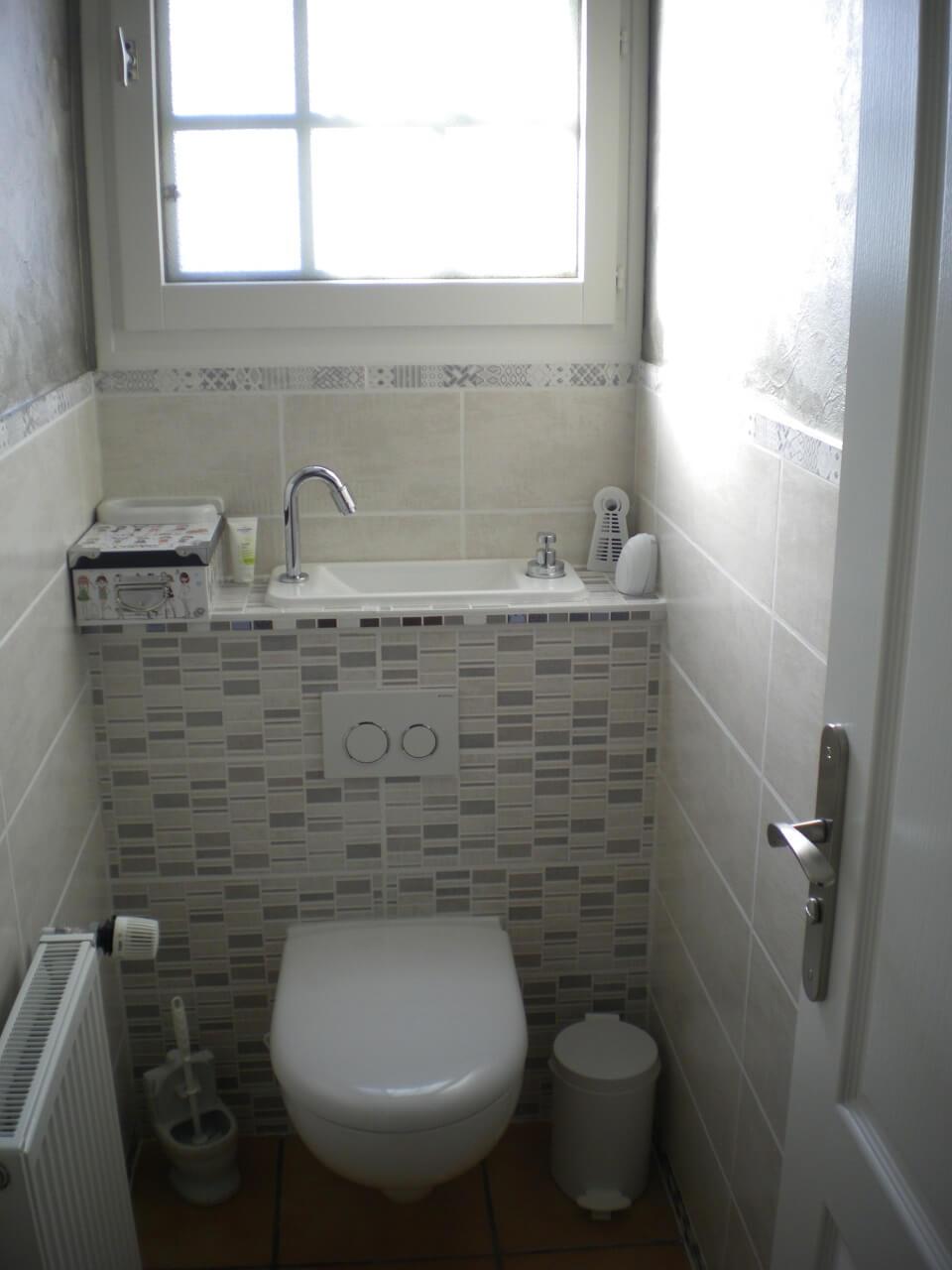WC Suspendu Avec Lave mains Compact Galerie WiCi Next