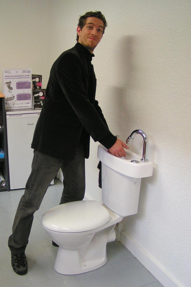 Lave Mains Wc : Wc lave mains original wici concept