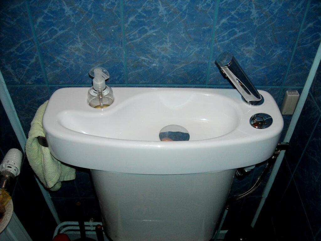 Wici concept wc lave mains lavabo galerie photos p2 - Changer un wc existant ...