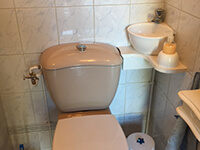 Kit lavabo WiCi Mini adaptable sur WC- M. R