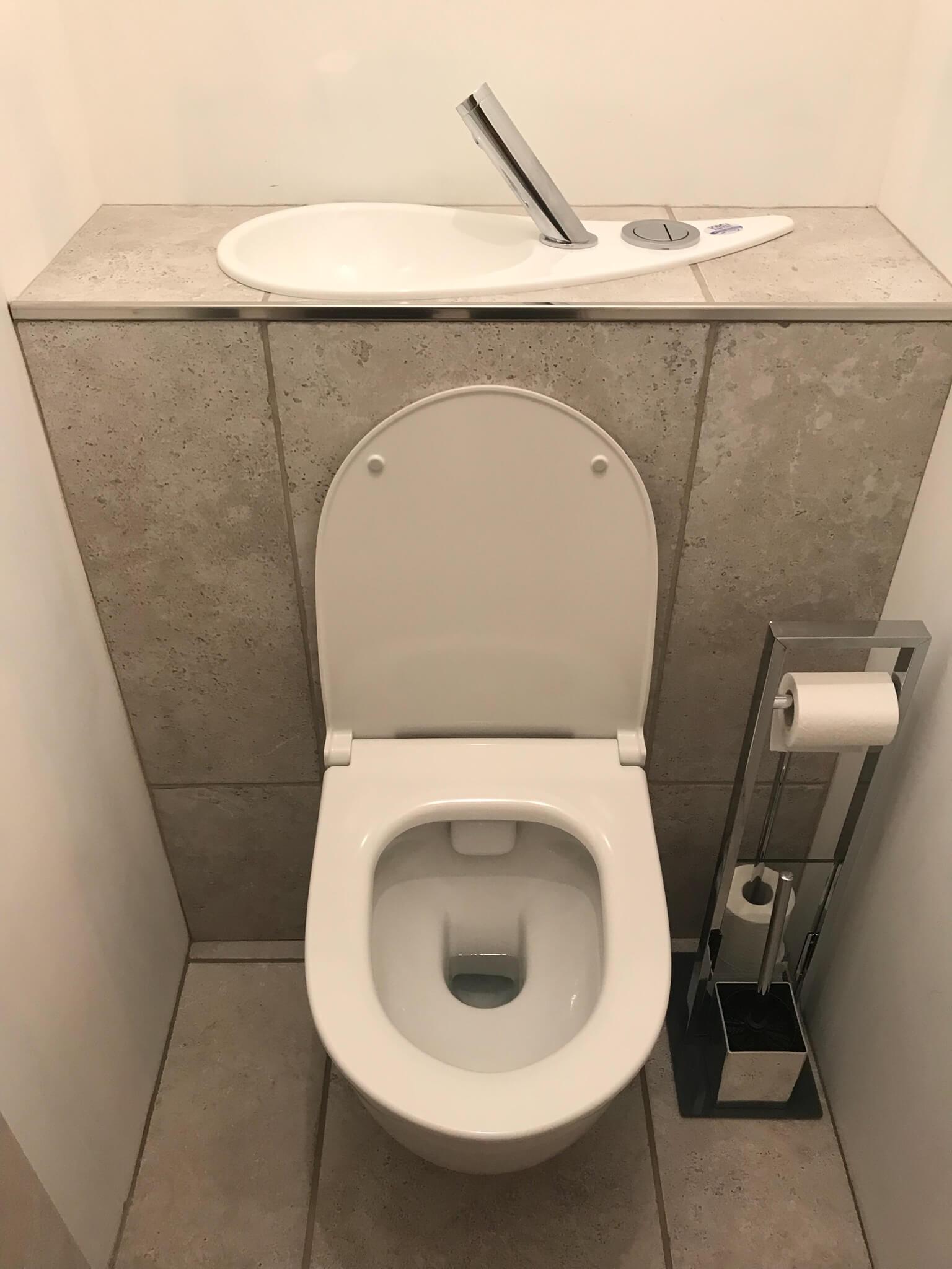 Largeur Wc Suspendu Geberit wc suspendu geberit avec lave-mains design intégré | wici