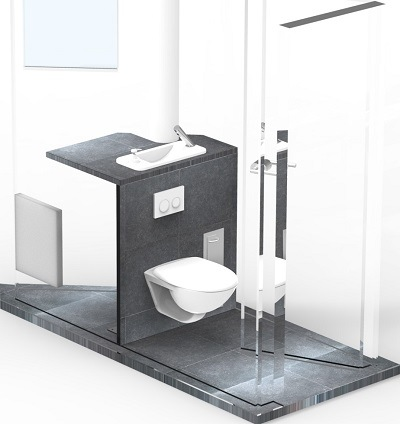installation wc suspendu wici concept. Black Bedroom Furniture Sets. Home Design Ideas