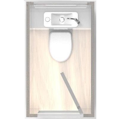 Installation wc suspendu wici concept - Toilette au mur ...