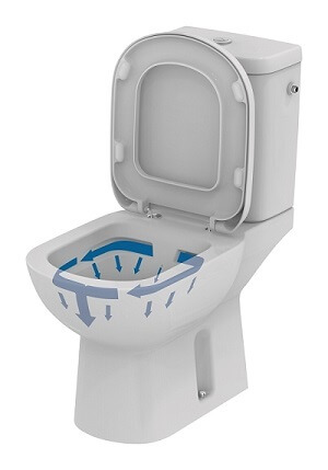 Pack WC sans bride Kheops t311001 de Ideal Standard