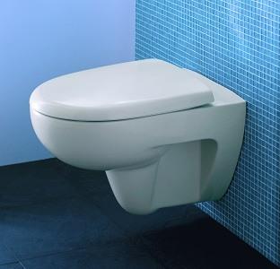 Cuvettes sans bride pour wc sur pied lave mains int gr wici concept - Nettoyer cuvette wc tres sale ...
