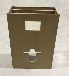 Habillages et finitions des wc suspendus avec lave mains wici bati et wici next - Habillage wc suspendu grohe ...