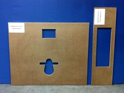 habillages et finitions des wc suspendus avec lave mains wici bati et wici next. Black Bedroom Furniture Sets. Home Design Ideas