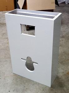 Habillages pour wc suspendus geberit avec lave mains int gr - Habillage pour wc suspendu ...