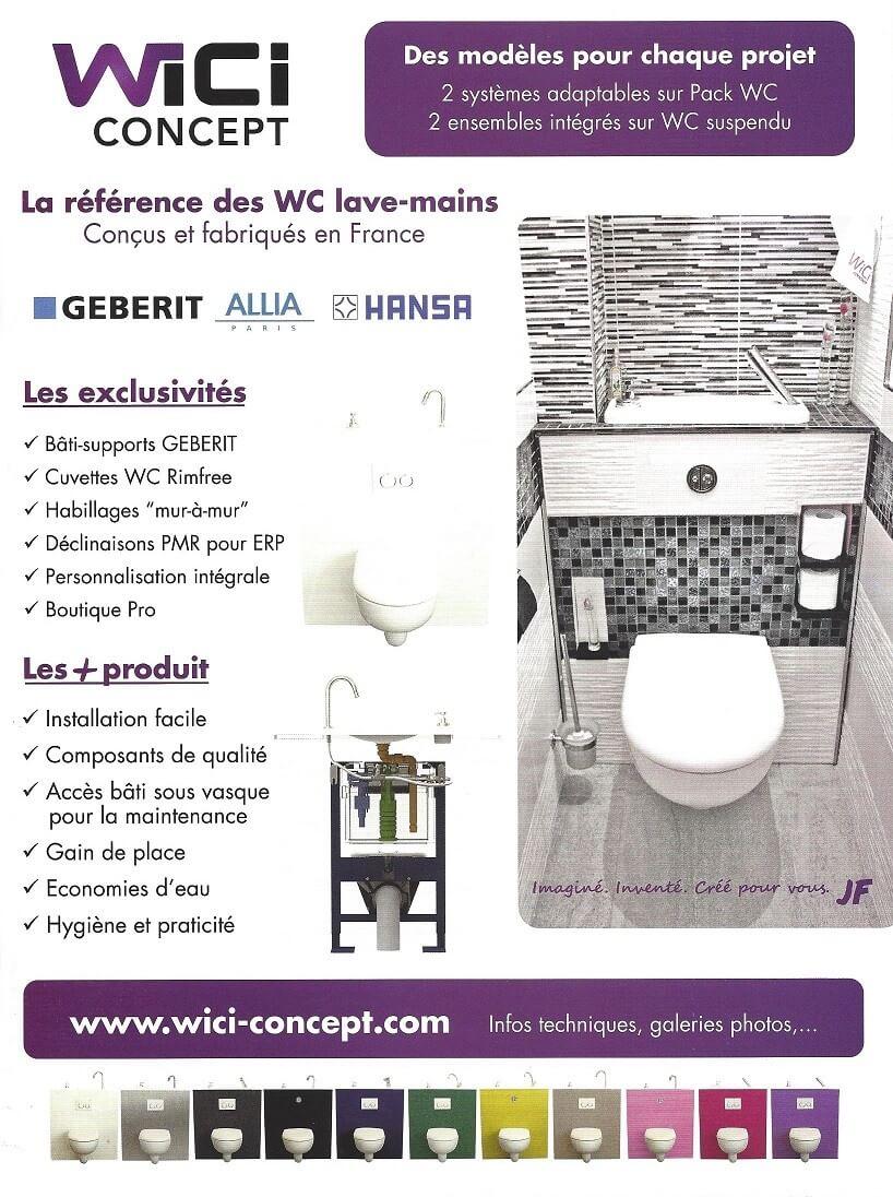 Wici concept la presse parle de nos petits lave mains for Maison du monde site officiel