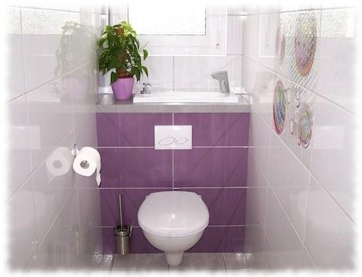 toilette suspendu geberit avec lavabo int gr wici bati. Black Bedroom Furniture Sets. Home Design Ideas