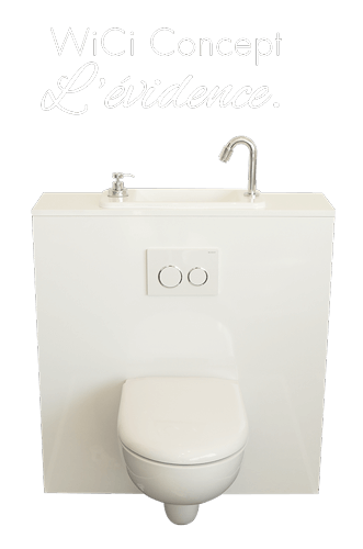 WiCi Concept l'Evidence WC lave-mains 2017