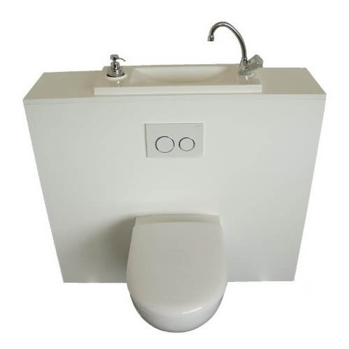 Facilitez La Maintenance De Votre Wc Suspendu Grace A Un Lave Mains
