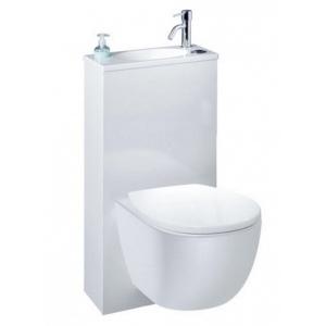 pack wc trio 2 siamp wc suspendu avec petit lave mains int gr