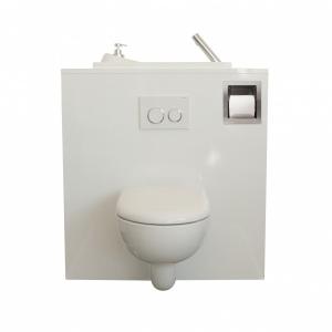 Eingebaute Toilettenpapierspender für Wand-WC