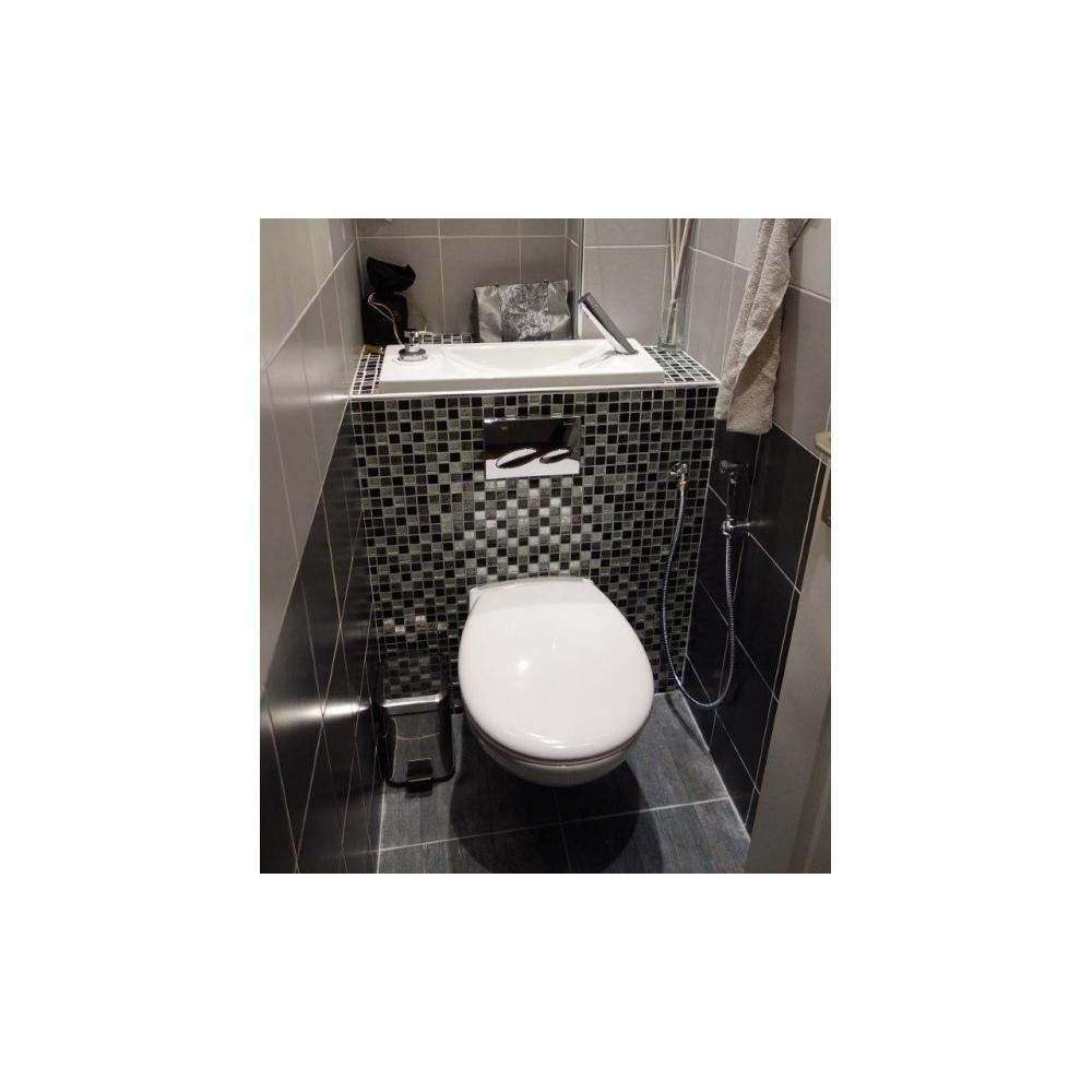 douchette hygi ne metal chrome pour wc suspendu wici concept. Black Bedroom Furniture Sets. Home Design Ideas