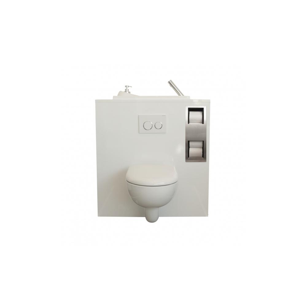 pack r serve de papier toilette et support balai encastr s wici concept. Black Bedroom Furniture Sets. Home Design Ideas