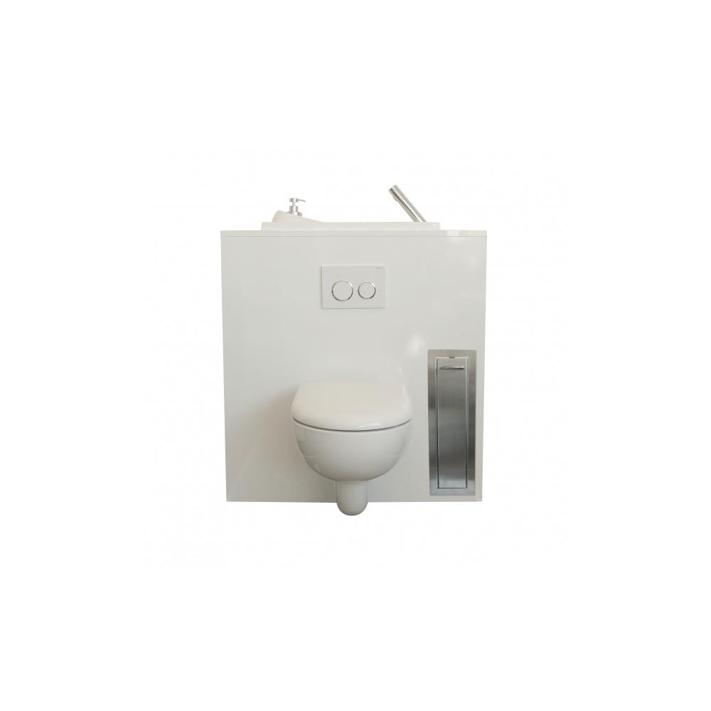 pack r serve de papier toilette et support balai. Black Bedroom Furniture Sets. Home Design Ideas