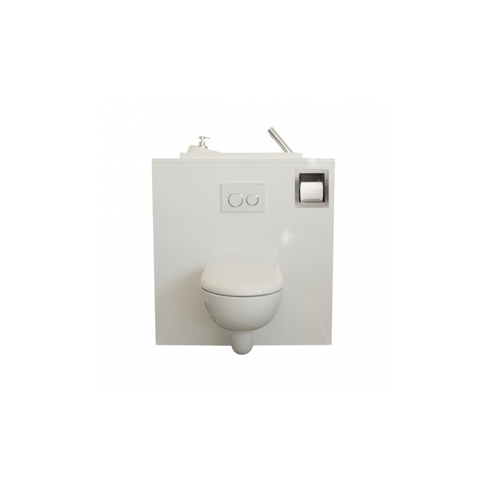 Pack distributeur et r serve de papier toilette wici concept - Avis sur wc suspendu ...