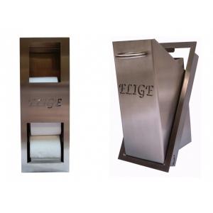 Pack réserve de papier toilette et poubelle