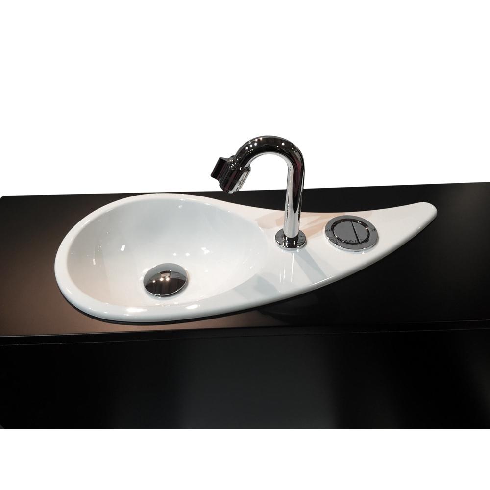 wc suspendu geberit avec lave mains design configuration standard wici concept. Black Bedroom Furniture Sets. Home Design Ideas