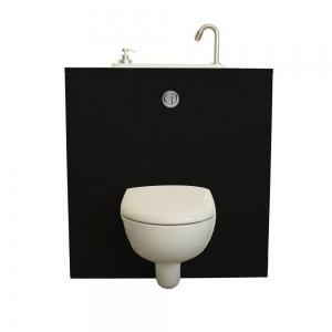 WC suspendu avec lave-mains WiCi Next - Modèle Biker