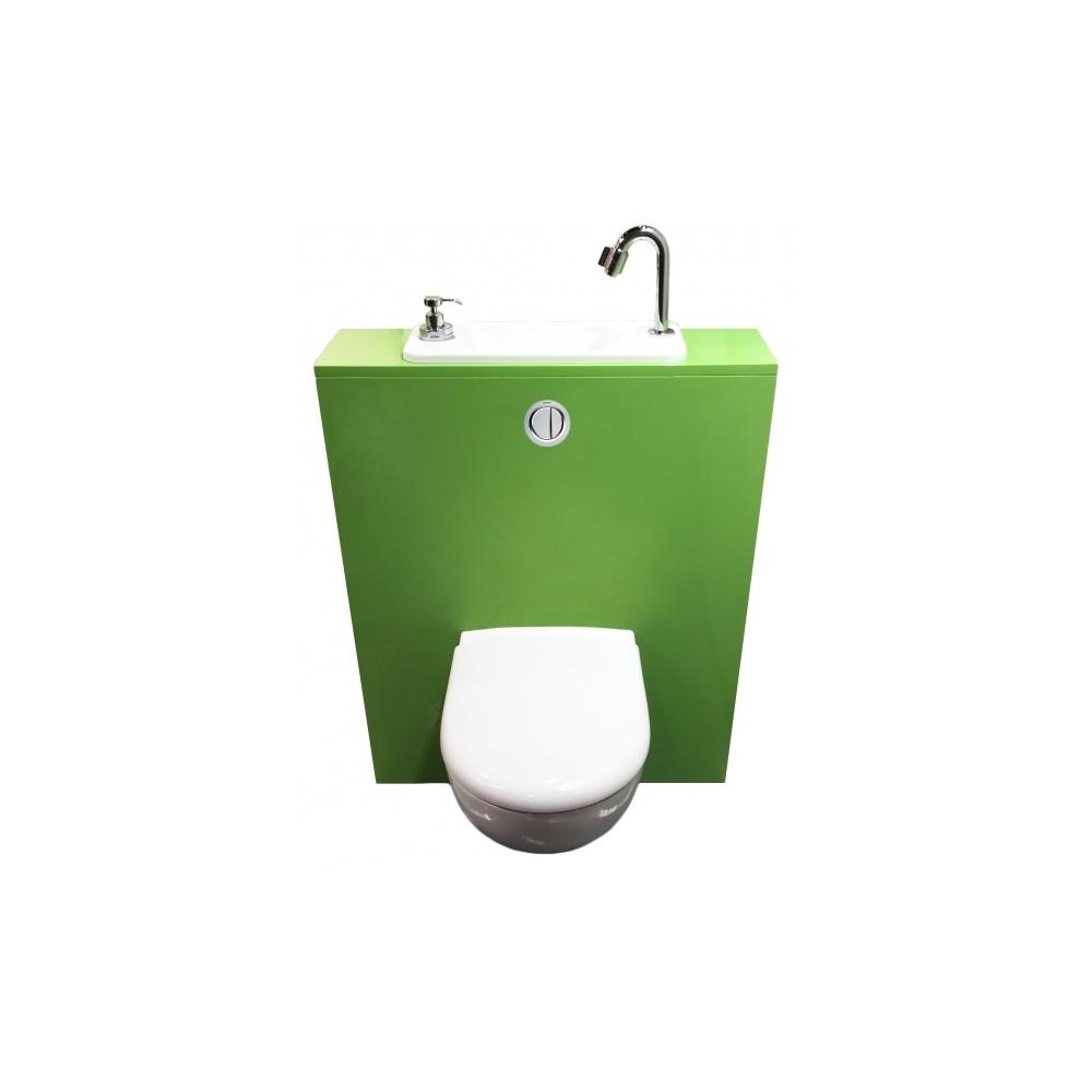 wici next wc suspendu geberit avec lave mains compact int gr. Black Bedroom Furniture Sets. Home Design Ideas